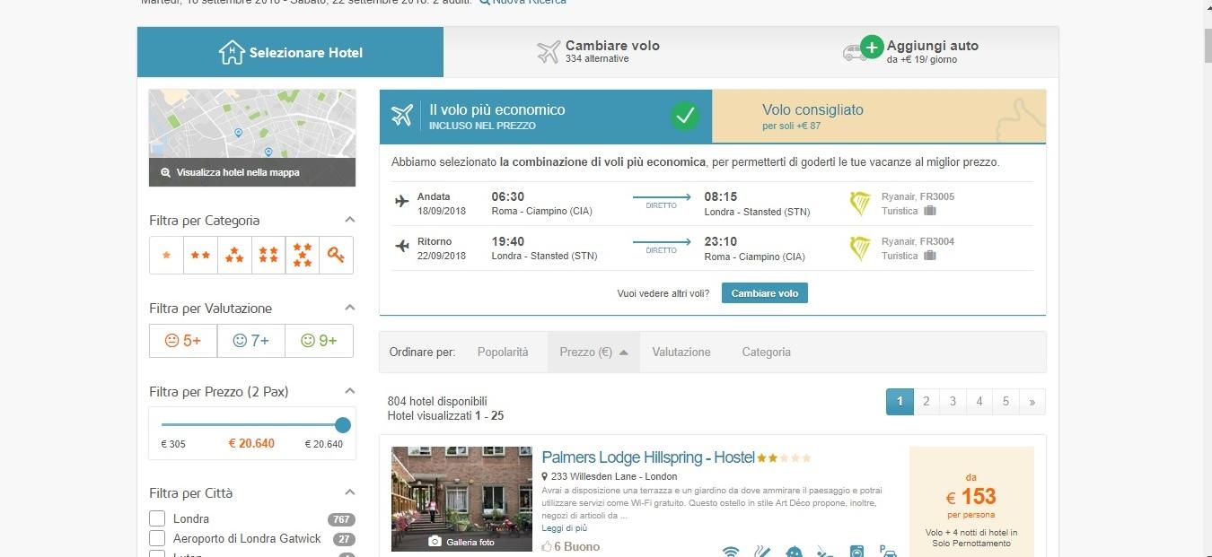 soluzione-sito-viaggio-e-vedo Come prenotare sul vero sito per le vacanze fai da te